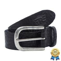 100% Genuine Authentic Royal Enfield Clothing - Washed Leather Belt Size S M L