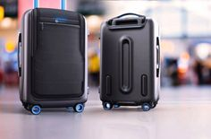 Bluesmart is a high-quality carry-on suitcase that you can control from your phone, like a boss.