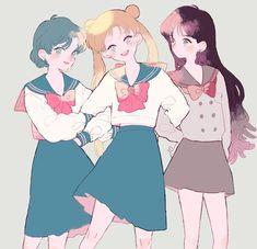 Manga Anime, Anime Neko, Anime Art, Sailor Moon S, Sailor Mars, Sailor Moon Aesthetic, Sailor Scouts, Magical Girl, Me Me Me Anime