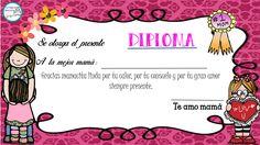 diplomas-para-nuestros-alumnos-1 Bday Cards, Kids Learning Activities, Teaching Spanish, Certificate, Education, School, Crafts, Mayo, Internet