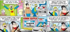 A Comic by David Reddick