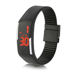 Young And Sports Watches Swim Watch Casual Jelly Digital Wristwatch