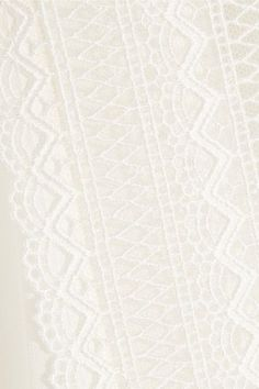 Giambattista Valli - Lace-trimmed Silk Top - Ivory - IT48