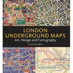 London Underground Maps, Claire Dobbin
