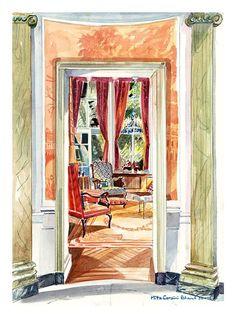NYC Sitting Room // Mita Corsini Bland