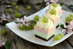 Gotuj z Cukiereczkiem: Piankowe kostki z winogronem