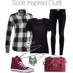 I love plaid styled shirts. I love the pants. I also like the bag it gives the outfit a nice pop of color.