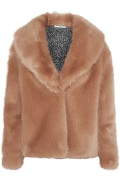 Shop on-sale Opening Ceremony Ribbed knit-paneled faux fur jacket. Browse other discount designer Coats & more on The Most Fashionable Fashion Outlet, THE OUTNET.COM