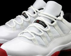 info for 18a5a 3932c Air Jordan XI Low - White Varsity Red