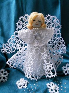 Angel ( Pattern by TATSY ) http://www.tattingbytatsy.com/Tatting_by_TATSY/WELCOME.html