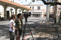 Shooting the documentary Southmost USA in Brownsville Texas