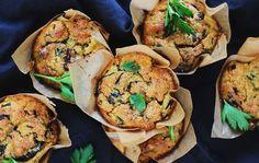 Savoury Quinoa Muffins