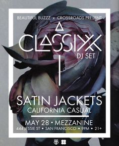 Tonight's the night! We're back at @mezzaninesf from 9-11pm supporting @satin.jackets and @classixx. Can't wait to see you there! by california_casual_official