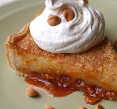 Butterscotch Creme Brulee Pie