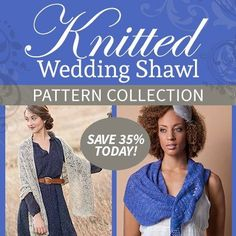 Wedding and Bridal Knitting Patterns | In the Loop Knitting