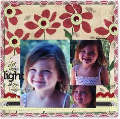 Let your Light Shine - Scrapbook.com - #scrapbooking #layouts