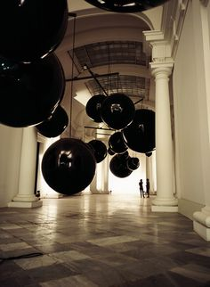 Big mobile by Xavier Veilhan. #mobiles #sculpture