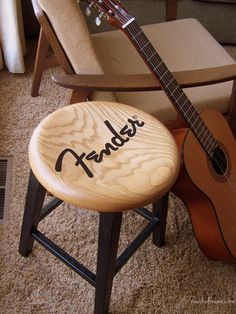Fender guitar stool