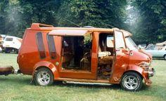 Custom VANS natural BABES & other bad ass transportation. Dodge Van, Chevy Van, Customised Vans, Custom Vans, Station Wagon, Custom Van Interior, Trailers, Bedford Van, Old School Vans