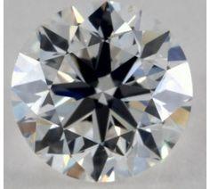 GIA Graded Round Diamond - 1.05 Carat, H Color, SI1 Clarity