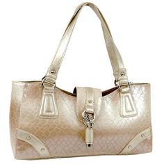 Designer Inspired Chic Snake Skin Embossed Luxury Satchel Handbag - Beige  $49.99 + free shipping  wantedwardrobe.com  #handbags #fashion