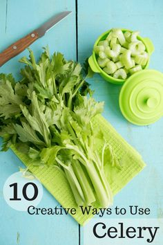 10 Ways to Use Celery – The Produce Mom 10 creative ways to use celery! Celery is nutrient-dense and can be used so many ways, it's practically a superhero in the produce world! Best Nutrition Food, Proper Nutrition, Health And Nutrition, Health Tips, Nutrition Websites, Health Care, Nutrition Articles, Nutrition Guide, Healthy Snacks
