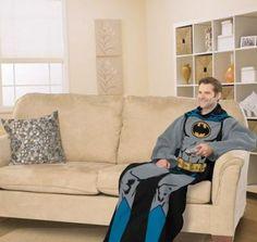 Batman Snuggie Blanket | gifts for geeks | batman gifts