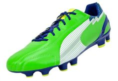 Puma evoSPEED 1 K FG Soccer Cleats - Jasmine Green with White...Available 2f44b6bc63122