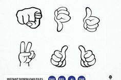 Svg file thumbs up. Hand Signs Clipart, This Guy Thumbs Svg, dxf, eps, png graphics PowerVector Graphics Illustrations Logo Background, How To Make Tshirts, Pattern And Decoration, Coreldraw, Journal Cards, Svg Files For Cricut, Graphic Illustration, Design Bundles, Clip Art