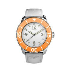 A white and orange watch!? I'm obsessed! fabulous!