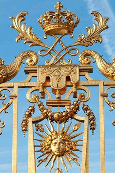 Gates of the Château de Versailles, Île-de-France