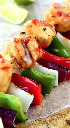Bang Bang Chicken Kabobs