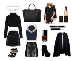 Veronica Lodge's wardrobe! edgy, classic, cute, co-ordinates, plaids, pearls, style, cape, dark, lip, maroon, navy, tote bag