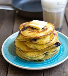 Blaubeer-Pfannkuchen mit Buttermilch | Madame Cuisine Rezept