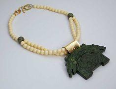 TWIN DRAGONS  Handcarved Jade Pendant  by sandrawebsterjewelry, $180.00
