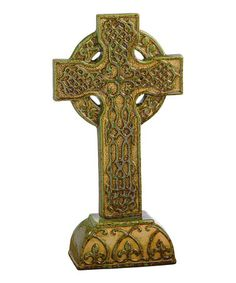 Take a look at this Celtic Cross Décor by Grasslands Road on #zulily today!
