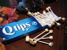 Halloween Recipes Party Food Ideas Earwax Q Tips