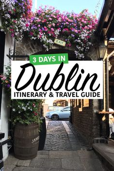 3 Days in Dublin: Recommended Itinerary and Travel Guide Travel tips 2019 History, great pubs, and beautiful places in Europe Destinations, Europe Travel Tips, Travel Guides, Holiday Destinations, Dublin Travel, Ireland Travel, Scotland Travel, Kilmainham Gaol, Grafton Street