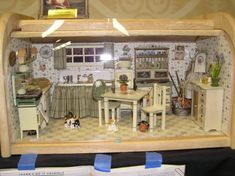 Bread Box ... Thank you for sharing this idea! A breadbox is just a glorious idea for a miniature room.
