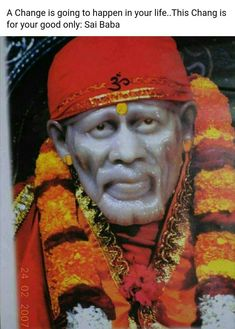 OM SAI RAM Guru Nanak Ji, Jai Ram, Shirdi Sai Baba Wallpapers, Sai Baba Pictures, Sai Baba Quotes, Sathya Sai Baba, Baba Image, Baby Krishna, Om Sai Ram