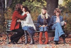 Best bench photo ever. ABBA.