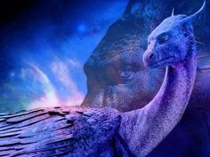 For as much as i hate the movie, they did a really great job with interpreting just how beautiful, and sophisticated Saphira is.