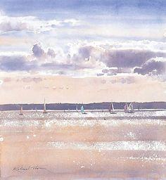 Richard Thorn \\ watercolor,