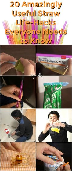 20 Amazingly Useful Straw Life-Hacks Everyone Needs to Know {Brilliant ideas}