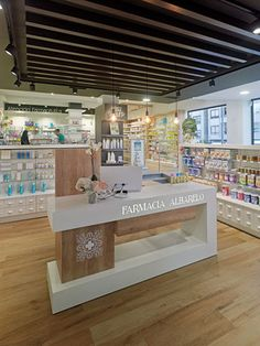 44678da49d Farmacia Albarelo - taller de farmacias. Diseño , proyectos y reformas de  farmacias en Galicia, A Coruña, Pontevedra, Lugo, Orense.