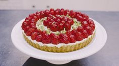 Try this Raspberry Mascarpone Tart with Pistachio Crust recipe from Kyra Bussanich of Kyra's Bake Shop!   This delicious gluten-free tart with toasted pistachio crust, creamy mascarpone layer, and fresh raspberries is the perfect treat! {Recipe Below} Kyra Bussanich of Kyra's Bake Shop joins KC the G-Free Foodie in the kitchen to make it. Kyra is Read more...