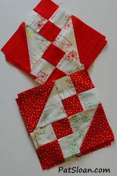 Pat sloan - Never Enough Chocolate. .the Sew Along! Time to make your first blocks. I am making two colorways ... come se the other one! http://blog.patsloan.com/2014/04/pat-sloan-sew-along-never-enough-chocolate-block-1.html