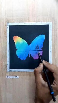 Art Drawings Sketches Simple, Art Drawings For Kids, Oil Pastel Drawings, Canvas Painting Tutorials, Diy Canvas Art, Soft Pastel Art, Lovers Art, Diy Art, Creative Art
