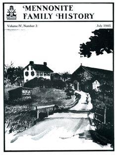 Mennonite Family History Back Issue