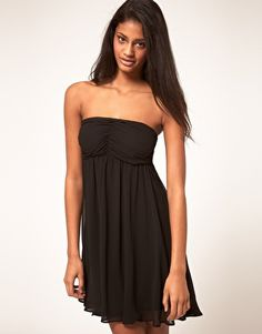ASOS Dress With Ruched Bust